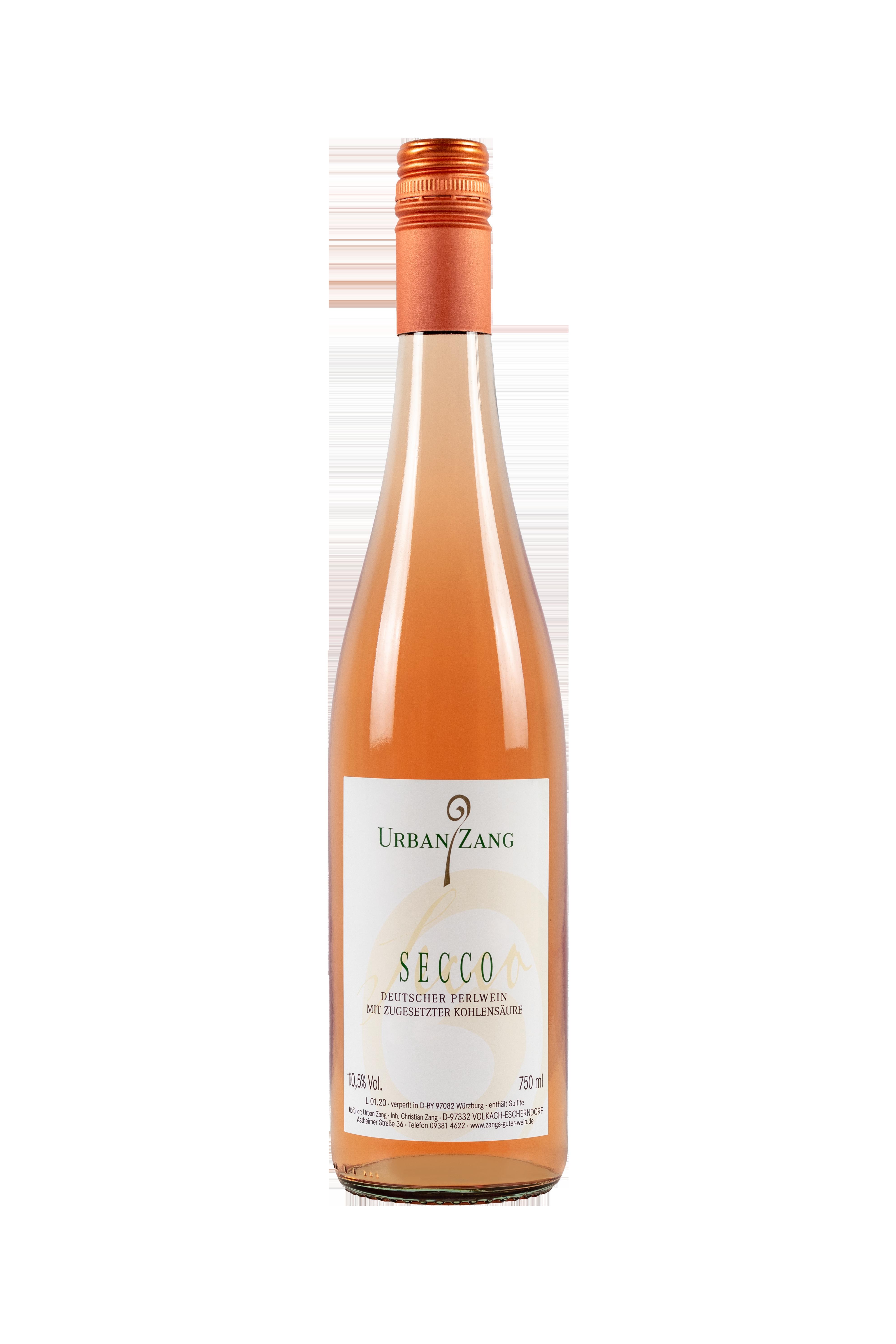 SECCO Deutscher Perlwein mit zugesetzter Kohlensäure